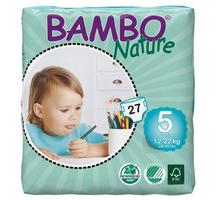 BAMBO NATURE Junior 27ks kalhotky 12-22kg