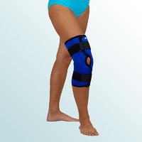 Ortéza kolenního kloubu krátká s dvouos.kloubem, rozepínací vel. L