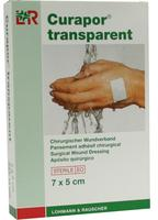Curapor Transparent 7cmx 5cm/5ks