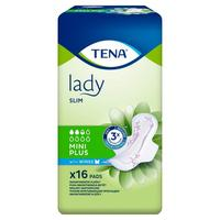 TENA Lady Slim Mini Plus WINGS 16ks vložky s křidélky