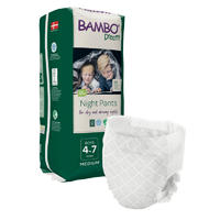 BAMBO DREAMY NIGHT PANTS 4-7 let BOY, 15-35 kg, 10 ks