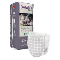 BAMBO DREAMY NIGHT PANTS 4-7 let GIRL, 15-35 kg, 10 ks