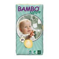 BAMBO NATURE Midi 66ks kalhotky 5-9kg