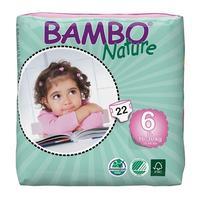 BAMBO NATURE XL 22ks kalhotky 16-30kg