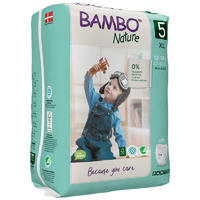 BAMBO NATURE PANTS 5 navlékací, 12-18 kg, 19 ks