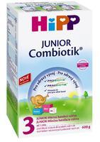 HiPP - mléko 3 Junior Combiotic pokračovací 600g