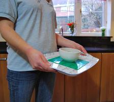 Tenura - extrémní podložka, 20cm x 20cm, zelená