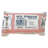 Gáza hydr. skl. steril. 7x5cm - 10ks