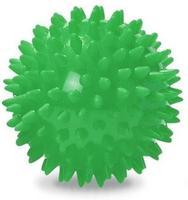 Míč masážní ježek pr. 7 cm - zelený