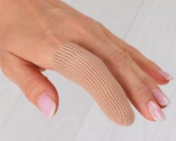 Silipos - návlek na prsty s čepičkou užší - S/M (2x6,5 cm)