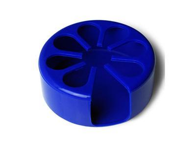 Tenura - držák na nápoje, modrý, průměr 9cm  - 1