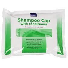 Čepice s obsahem šampónu a kondicionéru, bez užití vody, prům.32cm, bal. 1ks  - 1