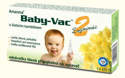 Odsávačka hlenů Arianna Babyvac - odsávačka připojitelná na vysavač  - 1