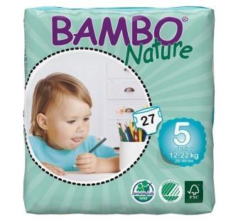 BAMBO NATURE Junior 27ks kalhotky 12-22kg  - 1