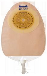 Sáček 1D SenSura Convex light MAXI , béžový, otvor 15-33 mm, filtr, 10 ks