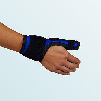 Ortéza palce ruky OR10A s dlahou, vel.S-pravá