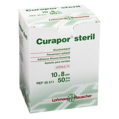 Curapor 10cmx 8cm /50ks  - 1