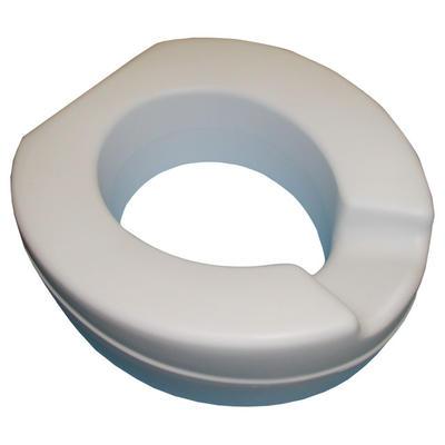 Nástavec na WC Contact - 11cm vyměkčený, anat. tvarovaný (barva: šedá) (0018587)