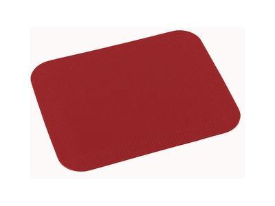 Tenura - obdelníková podložka, 25cm x 18cm, červená