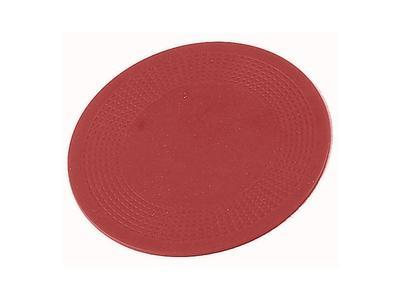 Tenura - tácek, průměr 14cm, červený  - 1