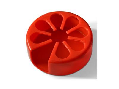Tenura - držák na nápoje, červený, průměr 9cm  - 1