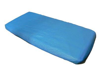 Prostěradlo modré PE   ( 20319 )  - 1
