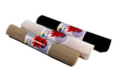 Tenura - protiskluzná tkanina, černá, 50cm x 182cm  - 1