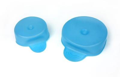 Tenura - víčko na nápoje, modré, průměr 6 a 8cm, 2ks  - 1