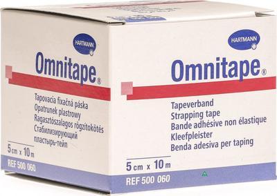 Omnitape 5,00cmx10m fixační páska - taping  - 1