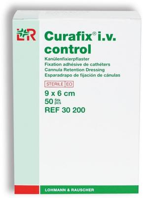 Curafix i.v. control 9x6cm, sterilní/50ks  - 1