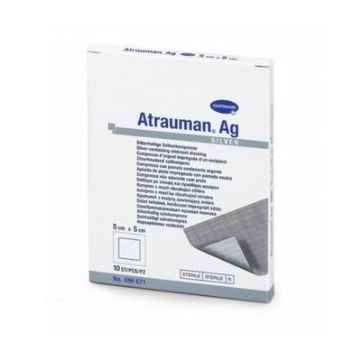 Atrauman AG ster.  5x5cm - 10ks
