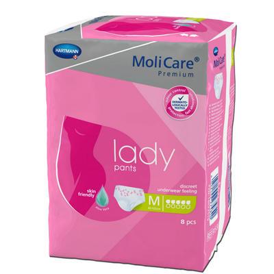 MoliCare LADY PANTS 5 kapek M 8ks natahovací kalhotky  - 1