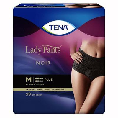 TENA LADY PANTS Plus NOIR M 9ks navlékací kalh.  - 1
