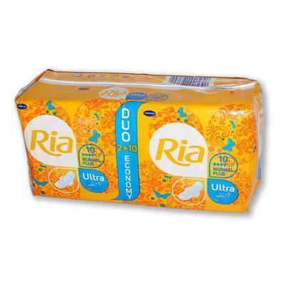 Ria Ultra Silk Normal Plus Duopack 2x10ks  - 1