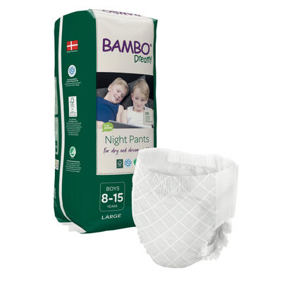BAMBO DREAMY NIGHT PANTS 8-15 let BOY, 35-50 kg, 10 ks  - 1