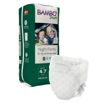 BAMBO DREAMY NIGHT PANTS 4-7 let BOY, 15-35 kg, 10 ks  - 1