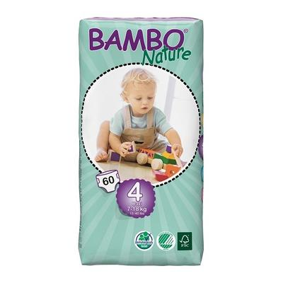BAMBO NATURE Maxi 60ks kalhotky 7-18kg  - 1