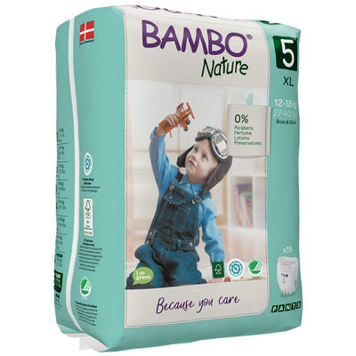 BAMBO NATURE PANTS 5 navlékací, 12-18 kg, 19 ks  - 1