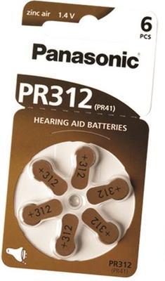 Baterie do sluchadel Panasonic PR312 (PR-312HEP/6DC)  - 1
