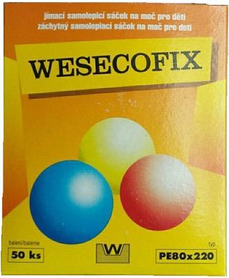 Sáček na moč dětské odběry WESECOFIX -Bruofix  - 1