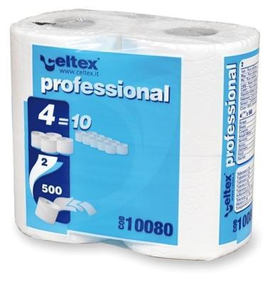 Toaletní papír 2vr., 500 útržků