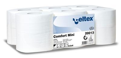 Toaletní papír Mini Jumbo (12ks), 2vr., pr.18,5cm