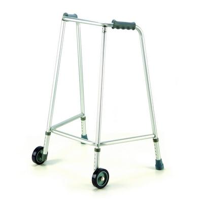 Chodítko čtyřbodové, přední kolečka, výška 82-90cm, vel. 6
