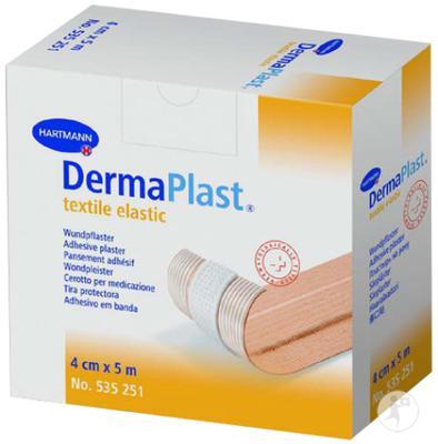 DermaPlast textile elastic  4cmx5m  - 1