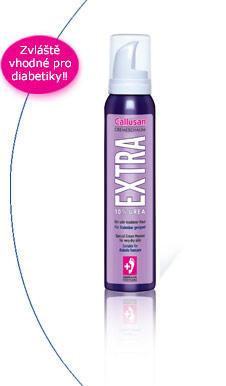 Callusan-EXTRA krémová pěna pro velmi suchou kůži, 125 ml