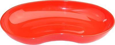 Emitní miska plastová PP - červená