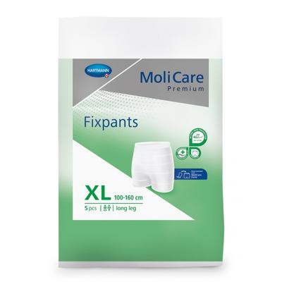 MoliCare FIXPANTS XL - 5ks (100-160cm, zelená)  - 1