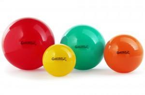 Míč 65cm - Gymnastikball italský, barvy:  - 1