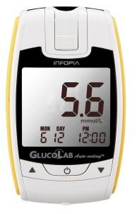 Glukometr GlucoLab - sada vč.25ks proužků