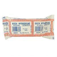 Gáza hydr. skl. steril. 9x5cm - 10ks  - 1